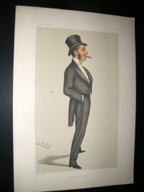 Vanity Fair Print 1879 Mr Justice Straight